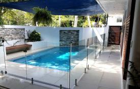Pool built by Bluewater Pools, Cairns