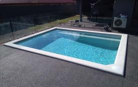 Glacial Blue, pool built by FNQ Pools