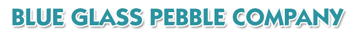 Blue Glass Pebble Company Logo